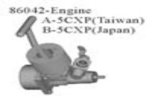 Team Infinity .05 nitro engine