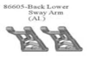 back lower sway arm, metal