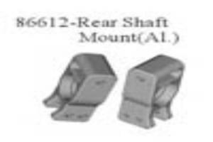 rear shaft mount, metal