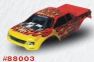 Red Flame Volcano body