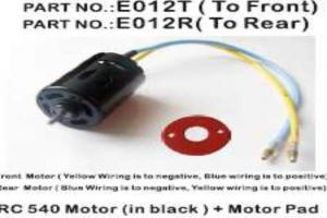 Motor RC540(casing in black)