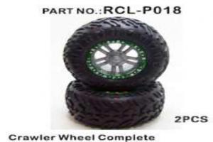 Crawler Wheels Complete (Orange)