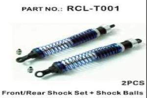 Front/rear Shock Set+shock balls installed