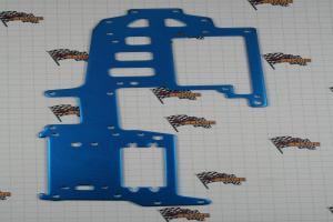 Aluminum Upper Plate, Blue (02115B)