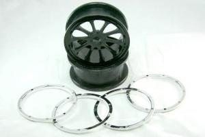 Wheels Rim Complete 2PCS (51001)