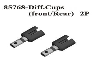 Front/Rear Diff. Cups 2Pcs (85768)