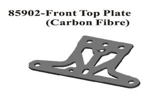 Carbon Fiber Front Upper Plate (85902)