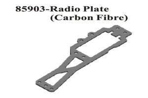 Carbon Fiber Radio Tray (85903)