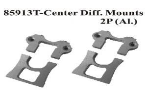 Aluminum Center Diff Mounts 2pcs (85913)