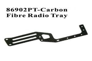 Carbon Fiber Radio Tray (86902PT)