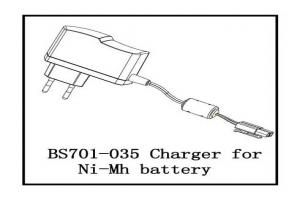 Charger for Ni-Mh battery (BS701-035)
