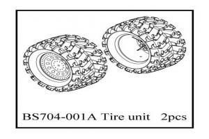 Tire unit   2pcs (BS704-001A)