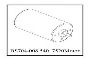 540  7520 Motor (BS704-008)
