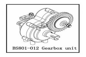 Gearbox unit (BS801-012)