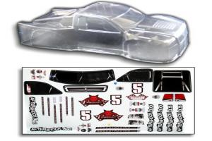 1/8 Short Course Truck Body CLEAR (BS804-002C)