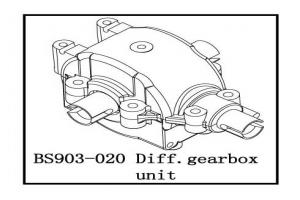 Diff. Gearbox Unit (BS903-020)