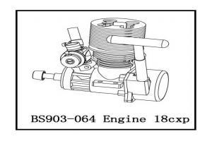 Sh 18# Engine (BS903-064)