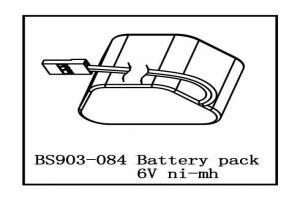 Battery Pack 6V (Ni-Mh) (BS903-084)