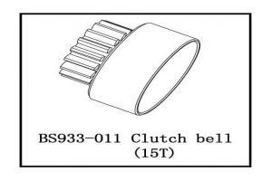 Clutch bell-15T (BS933-011)