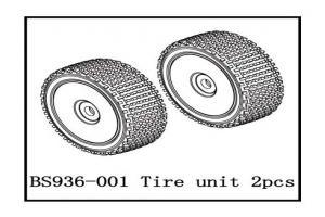 tire Unit(2PCS) (BS936-001)