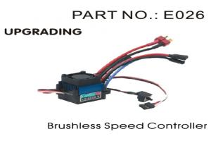 Sensorless Brushless Speed Control (ESC) (E026)