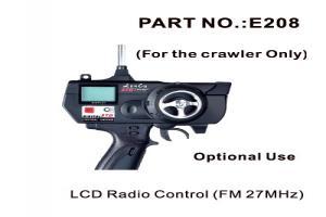 LCD Radio Remote Control & Receiver