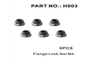 Flange Lock Nut M4 (H003)