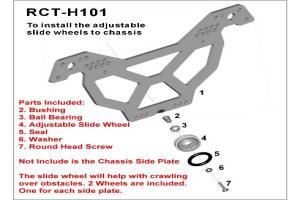 Aluminum Crawler Wheel for RS10 Crawler (RCT-H101)