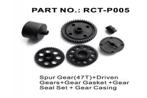 Spur Gear(47T)+Driven Gears+Gear Gasket +Gear Seal Set+Gear Casing