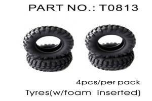 Tire with Foam Insert 4pcs (T0813)