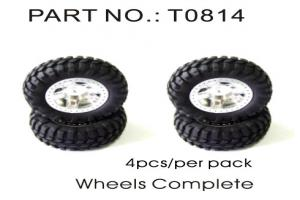 Complete Wheels and Tires 4pcs (T0814)
