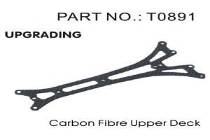 Carbon Fiber Upper Deck (T0891)