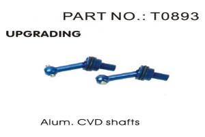 Aluminum CVD Shafts (T0893)