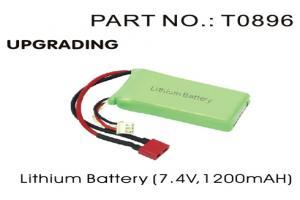 2S 7.4V 1200mAh Lipo Battery (T0896)