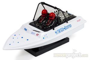NDQ Aeroboat Water Jet Mosquito Craft, White
