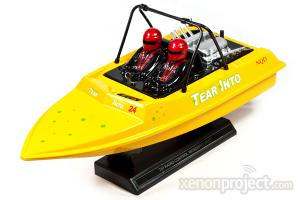 NDQ Aeroboat Water Jet Mosquito Craft, Yellow