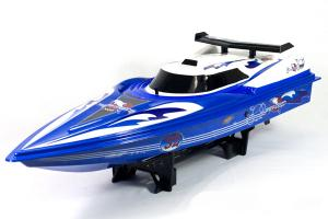 NDQ Dolphin RC Boat Mosquito Craft, Blue
