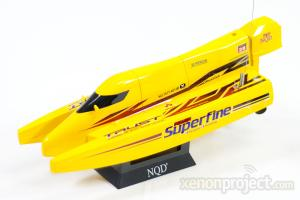 Mini Cyclone Racing Boat