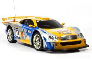 Mercedes CLK Tornado Electric RC Car, Yellow