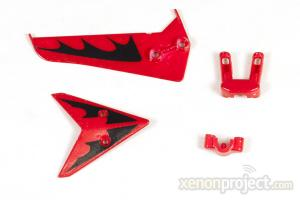 Tail Decoration for S107/S107G, Red