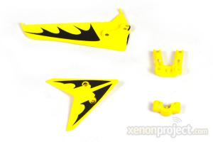 Tail Decoration for S107/S107G, Yellow