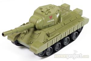 Mini RC Battle Tank A, Green