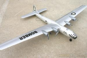 Team RC B-29 Bomber