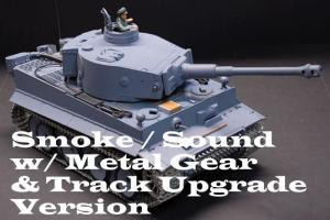 German Tiger Sound and Smoke (Upgraded Version)