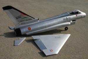 HC-Hobby EF-2000 EDF Kit Silver