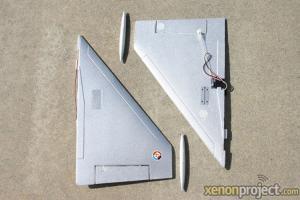 HC-Hobby Main Wing Set Silver