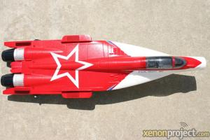 HC-Hobby Fuselage, servos, motor, ESC Red