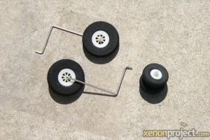 HC-Hobby Landing Gear Set Camo Grey