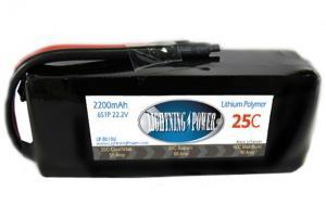 Lightning Power 2200mAh 25C 22.2V Battery