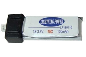 Lightning Power Lightning Power 130mAh 3.7V li-po for Blade MCX